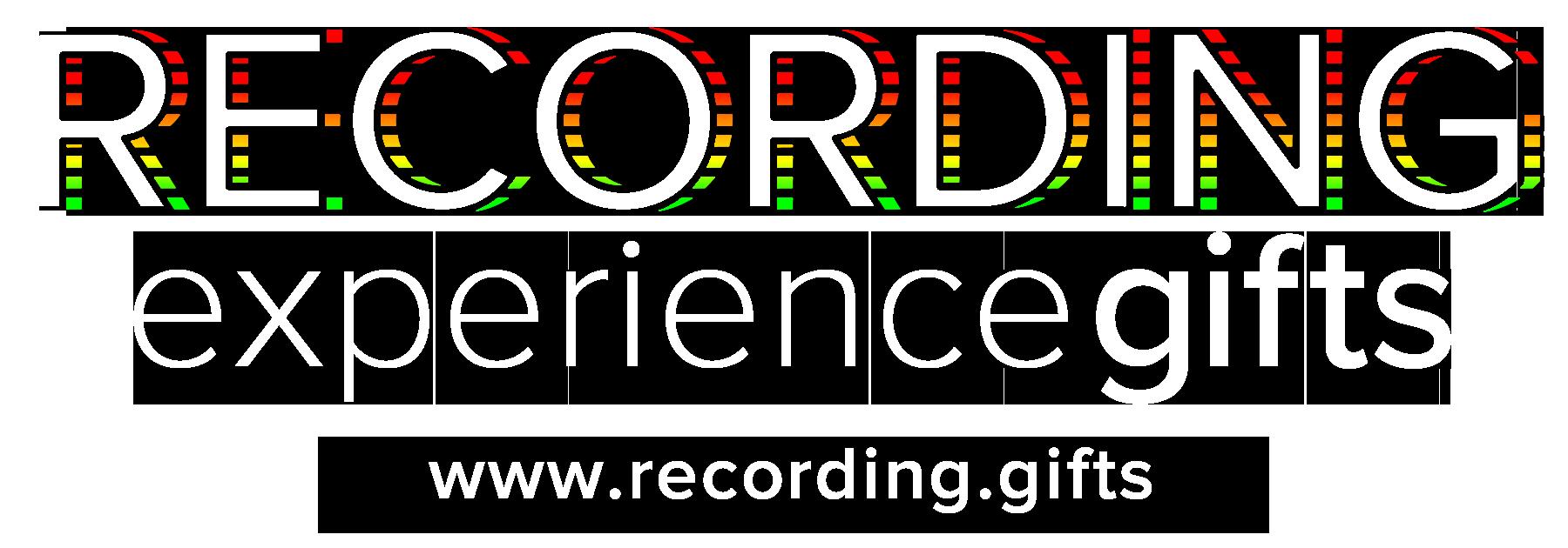 Recording Studio Experience Gift Vouchers